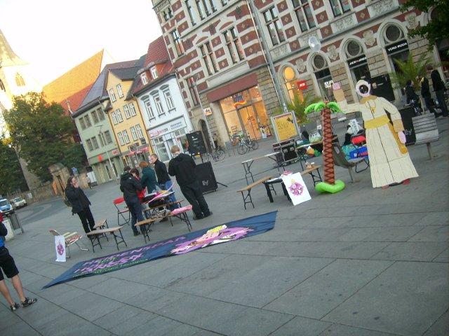 Religionsfreie Zone in Erfurt